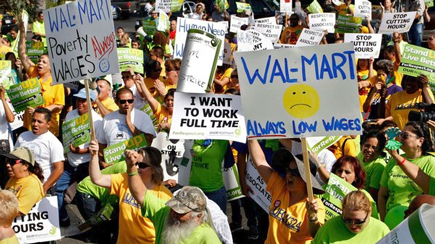 Walmart cuts an exercise in corporate greed